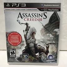Assassin's Creed III Videogame PS3 No Manual PlayStation 3 - $0.97