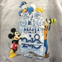 Disney Parks Sweatshirt Hoodie 2018 The Year To Be Here Full Zip Size 3X... - $178.15