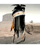 Rare Disney Store Lone Ranger Tonto Costume Indian Crow Wig Headdress Co... - $139.99