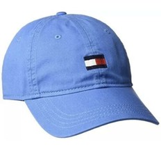 Tommy Hilfiger Men's Ardin Dad Hat Baseball Cap Strapback Blue with Tomm... - $27.72