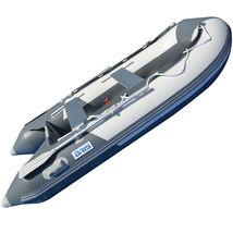 BRIS 9.8 ft Inflatable Boat Dinghy 4 Person Pontoon Boat Tender Fishing Raft image 3