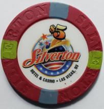 SILVERTON Hotel & Casino Las Vegas Nevada $5 Casino Chip - $9.95