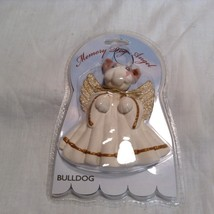 Memory Dog Angel Bulldog Ornament