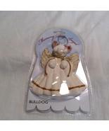 Memory Dog Angel Bulldog Ornament - $9.90
