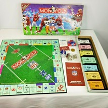 NFL Monopoly Board Game Official Limited Collectors Edition 31 Team Vint... - $39.55