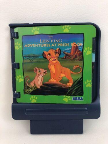 pico sega game cartridge lion king adventures at pride