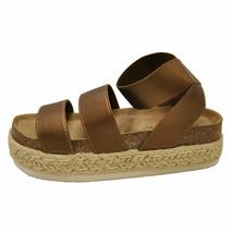 Pierre Dumas MESA-4 Whiskey Women's Platform Wedge Espadrille Sandal 25579 - $38.95