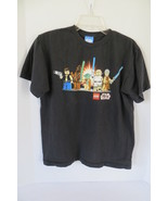 Boy's Lego Star Wars Black T-Shirt Size XL - $6.79
