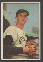 Boston Red Sox Maury McDermott 1953 Bowman Color Baseball Card 35 vg+ - $13.99
