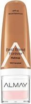 Almay Best Blend Forever Makeup- 190 Caramel SPF40 - $3.99