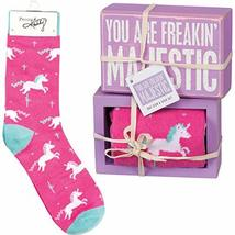 Primitives by Kathy Decorative Box Sign & Pair of Socks Gift Set - You are Freak - $14.99