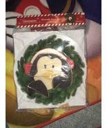 New! Christmas department 56 wreath dangler snowpinions penguin decoration - $15.00