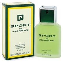 Paco Rabanne Sport Cologne 1.7 oz Eau De Toilette Spray image 4