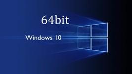 Microsoft Windows 10 Home & Pro 64 bit Re-Insta... - $9.79