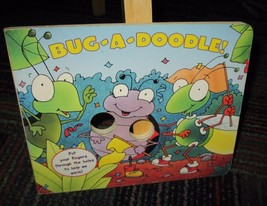 BUG-A-DOODLE! BOARD BOOK BY MATT MITTER, GREAT READ, GUC - $3.99