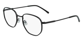 NEW LACOSTE L2253 033 Dark Gunmetal & Black Eyeglasses 51mm with Case - $79.15
