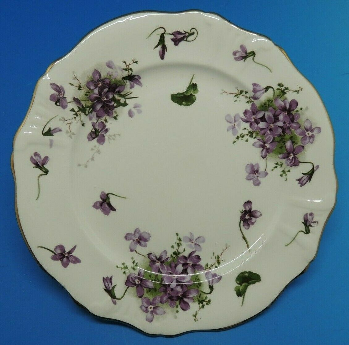 "Primary image for Hammersley Victorian Violets 8""  Plate Fine Bone China England"