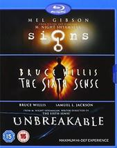 M Night Shyamalan Vista Series Collection(Sixth Sense/Signs/Unbreakable) Blu-ray