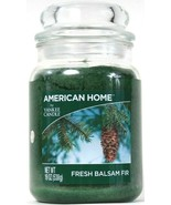 1 American Home By Yankee Candle 19 Oz Fresh Balsam Fir 1 Wick Glass Candle - $26.99