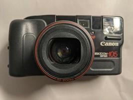 Canon Sure Shot Mega Zoom 105 Caption 35mm Point & Shoot Camera *Parts/Repair* - $22.72