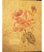 Cheri Blum Wall Art Antique Roses Croscill Collection Pink Flower Picture - $12.86