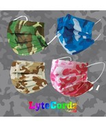 Face Mask Camo Camouflage Hunter Patterns - Disposable Surgical 3 Ply  - $8.90+