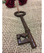 Authentic Key Necklace - Skeleton Key Valentines Gift for him / her Anti... - $24.99