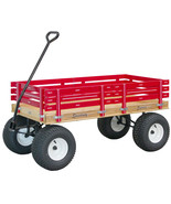LARGE AMISH BEACH & GARDEN WAGON 6½ Wide Off Road Tires * 4 Color Choice... - $423.72