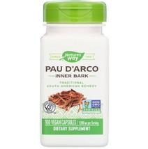 Pau D'Arco Inner Bark 1090 mg Natural Antibiotic 100 Vegan Capsules - $19.90