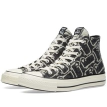 Converse WOOLRICH Wool Grey/Black Iconic SHEEP Hightop Shoes Unisex DISC... - $89.99