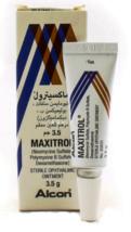 2 Tube Maxitrol Eye Ointment 3.5g Free Shipping - $32.90