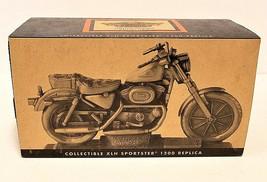 Harley-Davidson Motorcycle XLH Sportster 1200 Pewter Wood Base CIB LTD - $50.20
