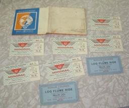 1964 New York World's Fair Ticket Lot Monorail Log Flume - $28.99