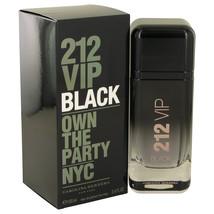 212 Vip Black Eau De Parfum Spray By Carolina Herrera 3.4oz - $90.62