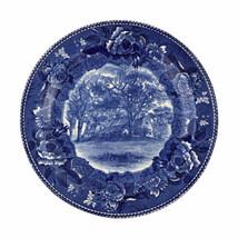 Vintage Wedgwood Etruria Blue Homestead Fairbanks Family Transferware Pl... - $37.04