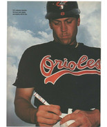 Baltimore Orioles Cal Ripken Signing An Autograph 1995 Pinup Photo 8x10 - $1.75