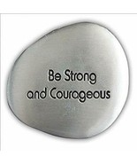 Be Strong and Courageous Soothing Stone by Cathedral Art - Engraved Insp... - $9.90