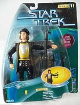 Star Trek Warp Factor 1 Spring Activated Q Action Figure Fencing NRFP 1997 - $6.42