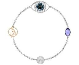 Authentic Swarovski Remix Collection Evil Eye Bracelet, size L - $73.87