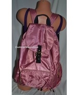 Victoria's Secret PINK Campus Buckle School Bag Backpack Begonia Rose Black Gold - $69.99