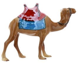Hagen-Renaker Specialties Ceramic Nativity Figurine Saddled Camel with Blanket image 11