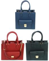 Michael Kors Bridgette Shopper Tote Bag Medium Handbag Saffiano Leather - $384.16 CAD
