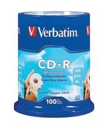 Verbatim 94712 700MB 80-Minute 52x CD-Rs, 100-ct Spindle - $44.36