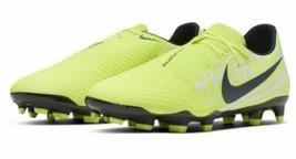 Men's Nike Phantom Venom Academy Firm Ground Soccer Cleats, Volt-Black AO0566 - $43.99