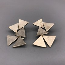 Vintage Sterling Silver Tamiko Signed Clip On Earrings - $49.49