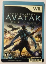 Nintendo Wii Avatar The Game Blockbuster Artwork Display Card - $5.00