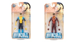 Invincible Mark Grayson Figure Action Toy SET Color + Bloody ECCC 2017 S... - $96.99