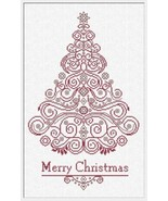 CT130 Christmas Tree cross stitch chart Alessandra Adelaide Needlework - $15.30