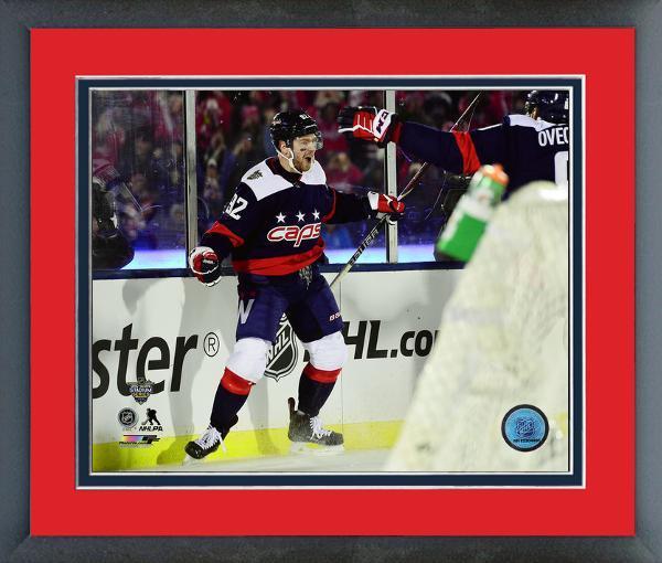 Evgeny Kuznetsov Capitals 2018 NHL Stadium Series -11x14 Matted Framed Photo b10908972