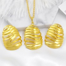 Sunny Jewelry Trendy Jewelry Clip Earrings Pendant Dubai Women Jewelry S... - $13.05